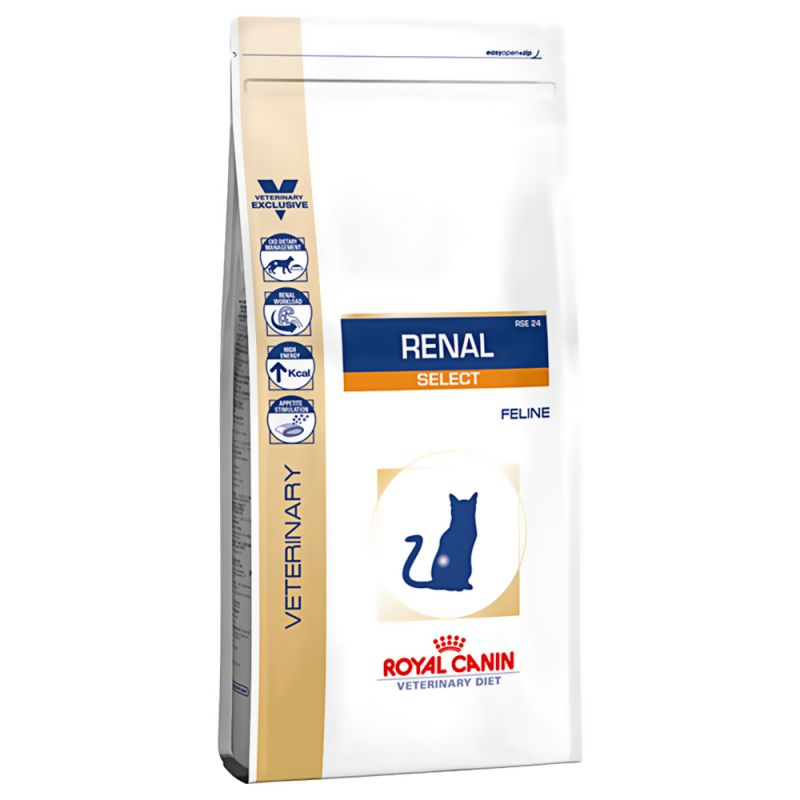 Royal Canin Veterinary Diet Cat RENAL Select - 4kg