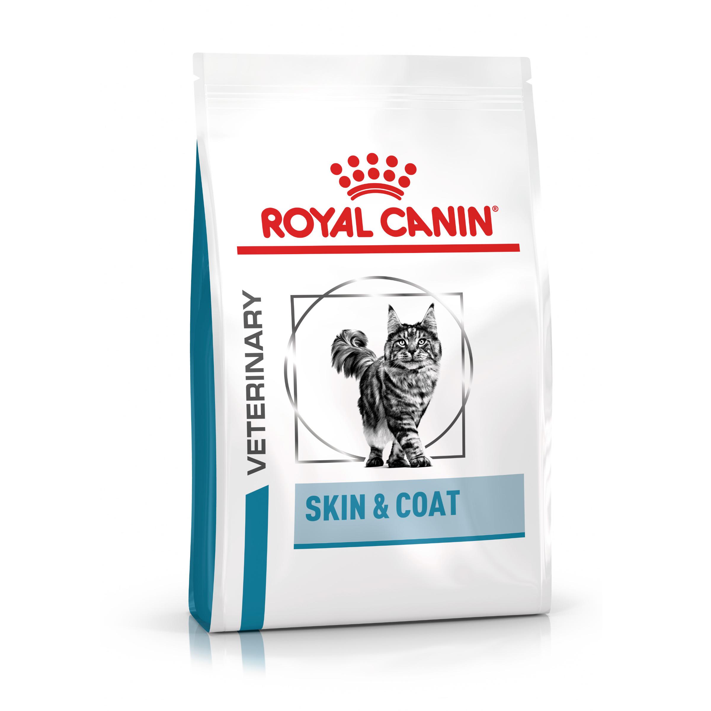 Royal Canin Veterinary Health Nutrition Cat SKIN & COAT - 1,5kg