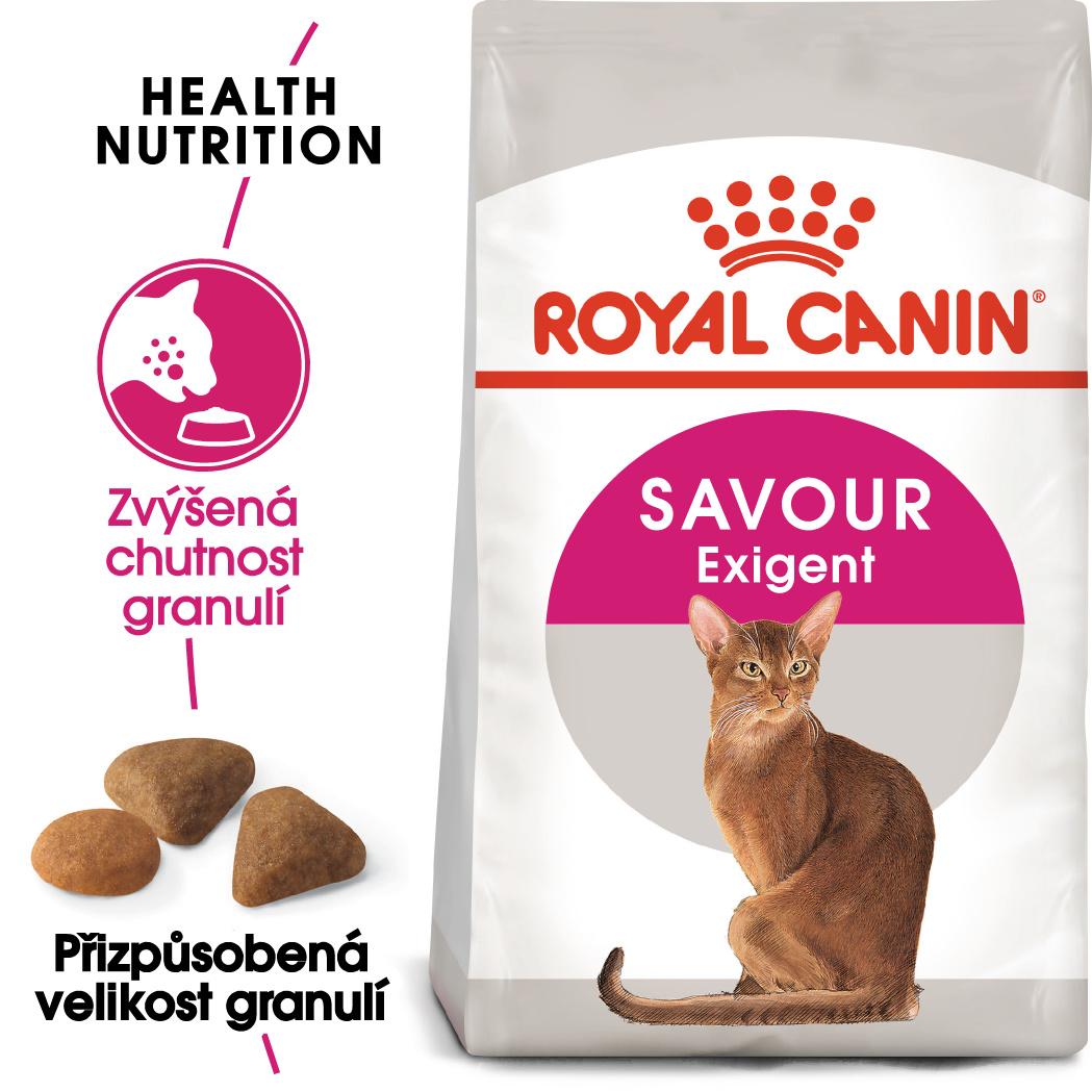 Royal Canin Savour Exigent - granule pro mlsné kočky - 2kg prodejna