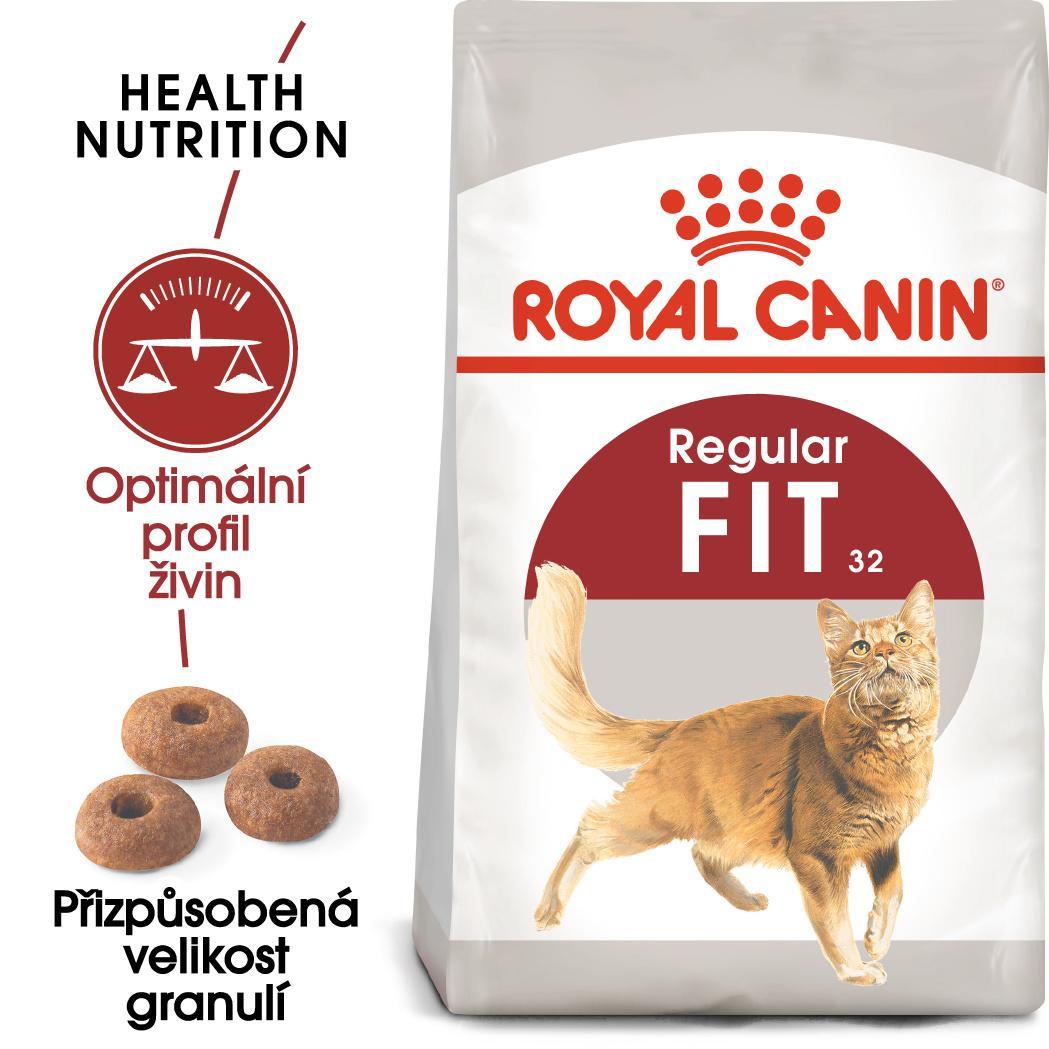 Royal Canin FIT - granule pro správnou kondici koček - 2kg prodejna