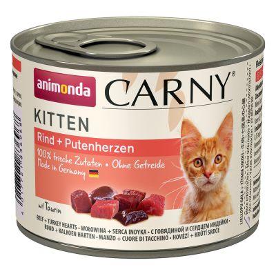 Animonda cat konz.  carny kitten hovězí 200g PRODEJNA