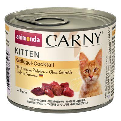 Animonda cat konzerva carny kitten drůbeží koktejl 200g PRODEJNA