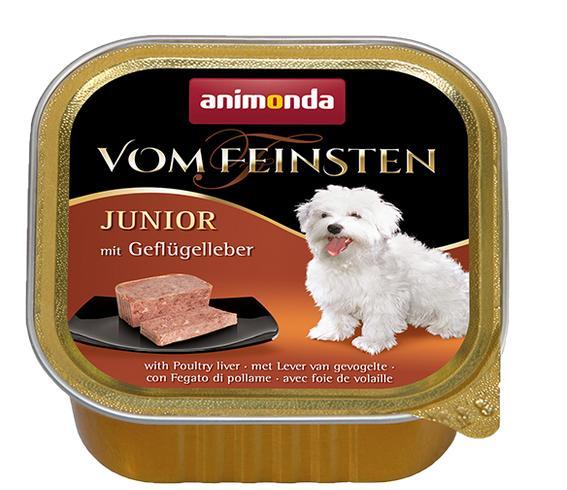 Animonda dog paštika  junior Drůbeží/ krůtí srdíčka 150g