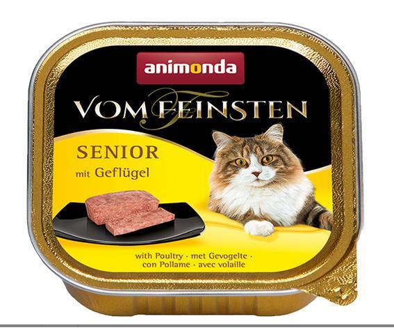 Animonda cat paštika  senior Jehněčí 100g