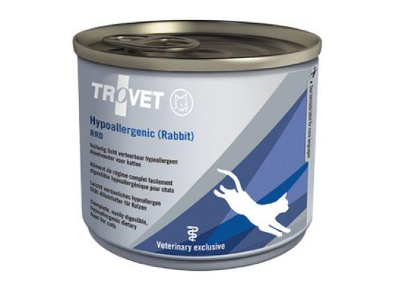 Trovet cat  RRD - hypoallergenic rabbit konzerva 200g
