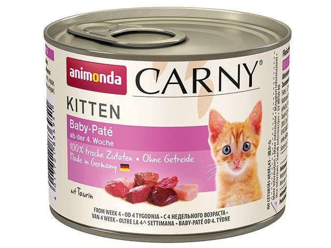 Animonda cat konzerva carny baby paté 200g PRODEJNA