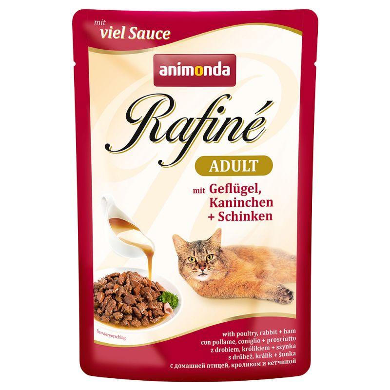 Animonda cat kapsa Rafiné Kuře/kachna/nudle 100g prodejna