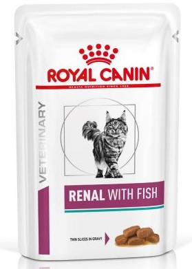 Royal Canin Veterinary Diet Cat Renal with Fish kapsa 85g