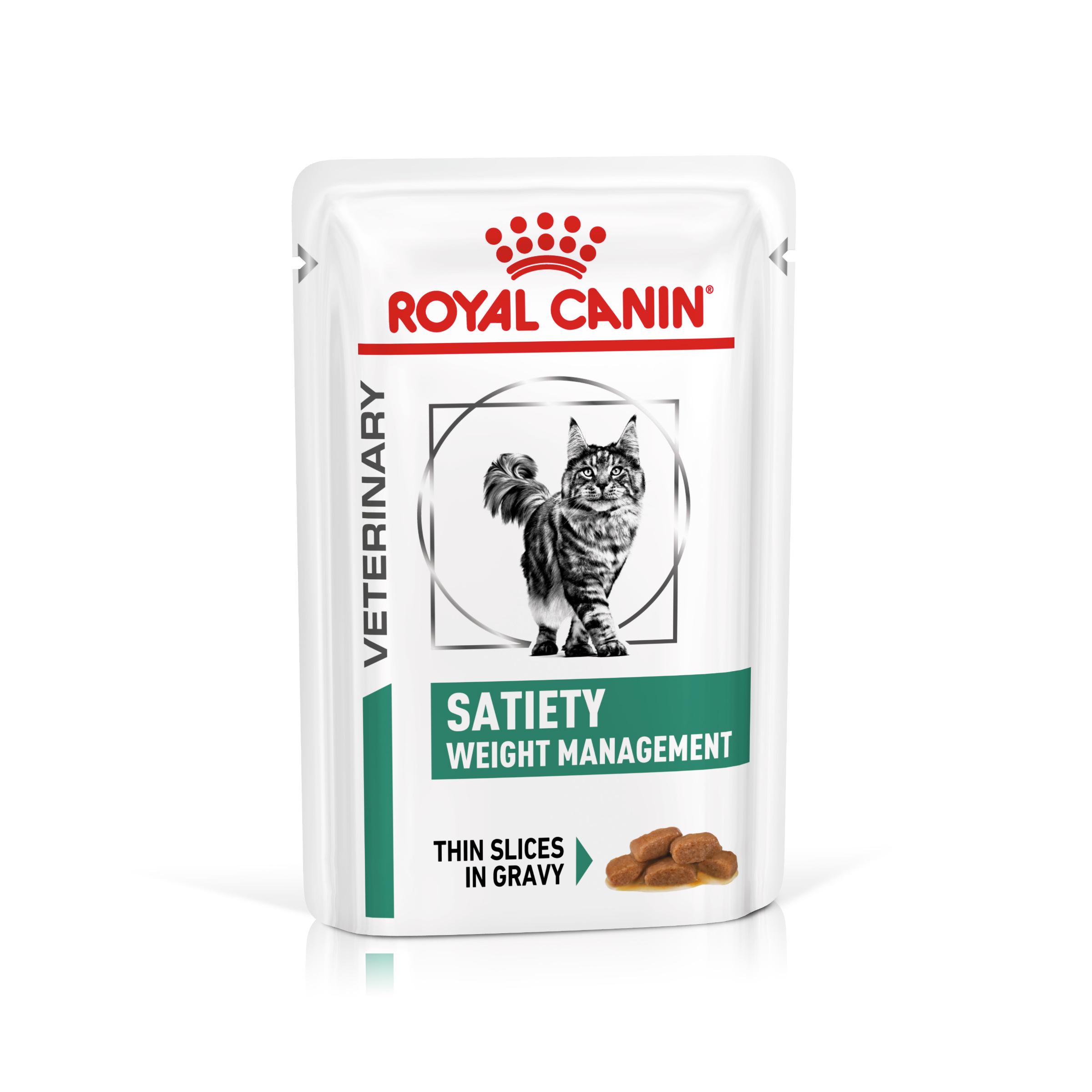 Royal Canin Veterinary Health Nutrition Cat Satiety kapsa 85g