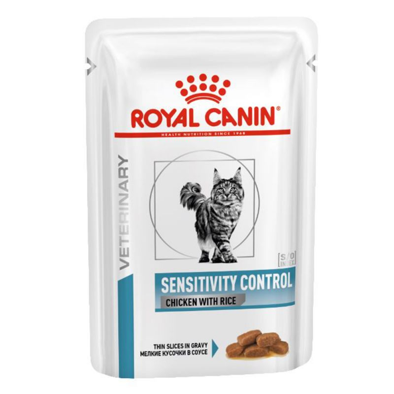 Royal Canin Veterinary Health Nutrition Cat Sensitivy Control chicken with rice kapsa 85g