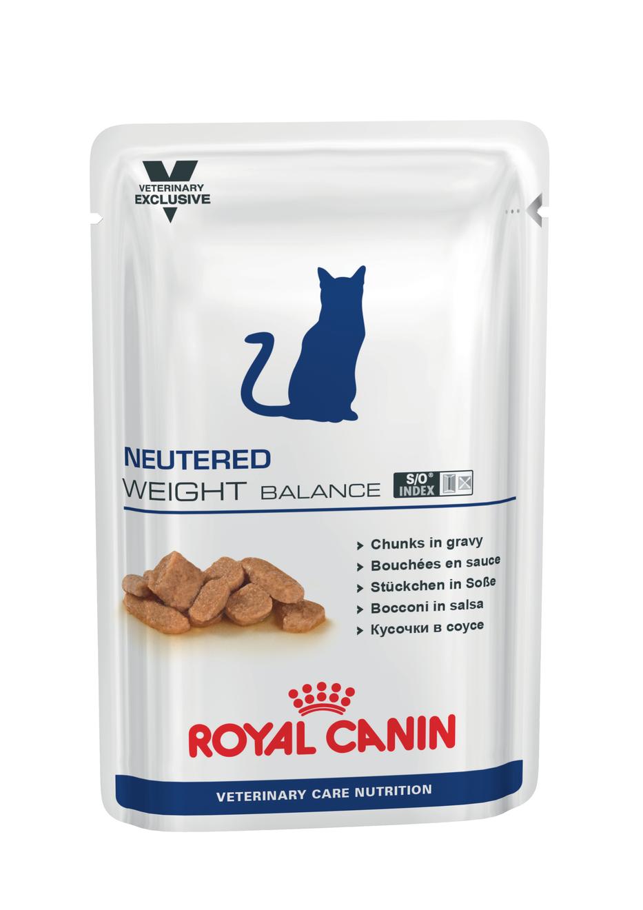 Royal Canin Veterinary Care Cat Neutred Weight Balance kapsa 100g