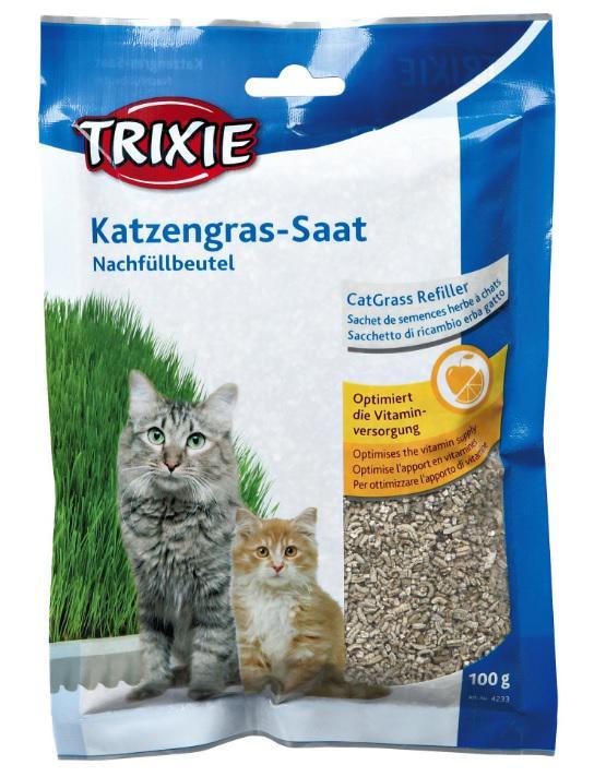 BIOGRAS tráva pro koťata (sáček) (trixie) 100g