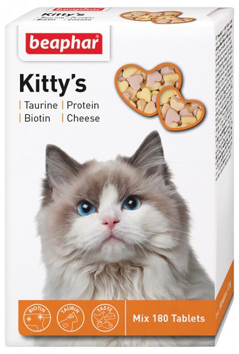 Beaphar  cat poch. KITTY'S MIX (180tbl)