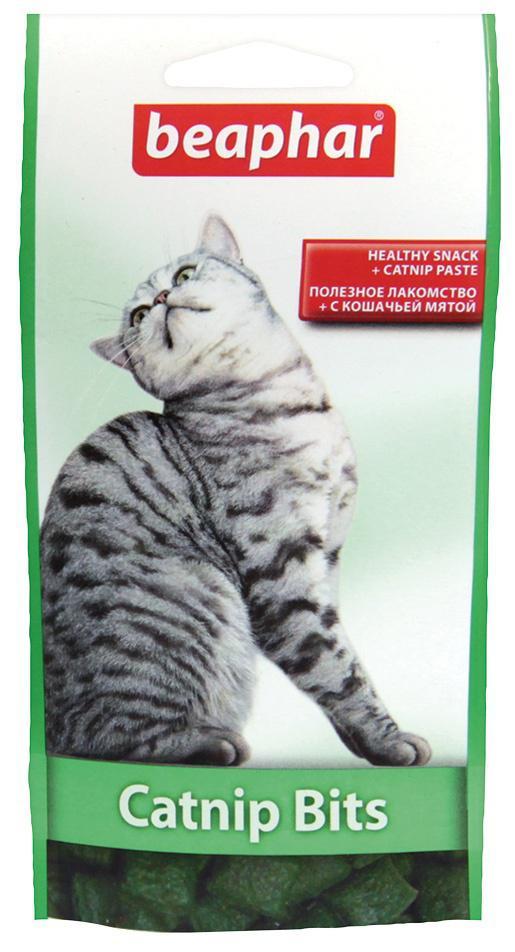 Beaphar  pochoutka catnip bits 35g