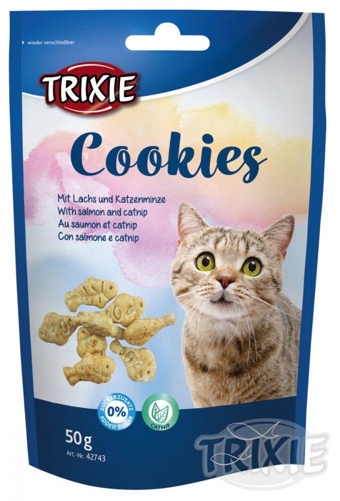 Cat pochoutka COOKIES (trixie) 50g