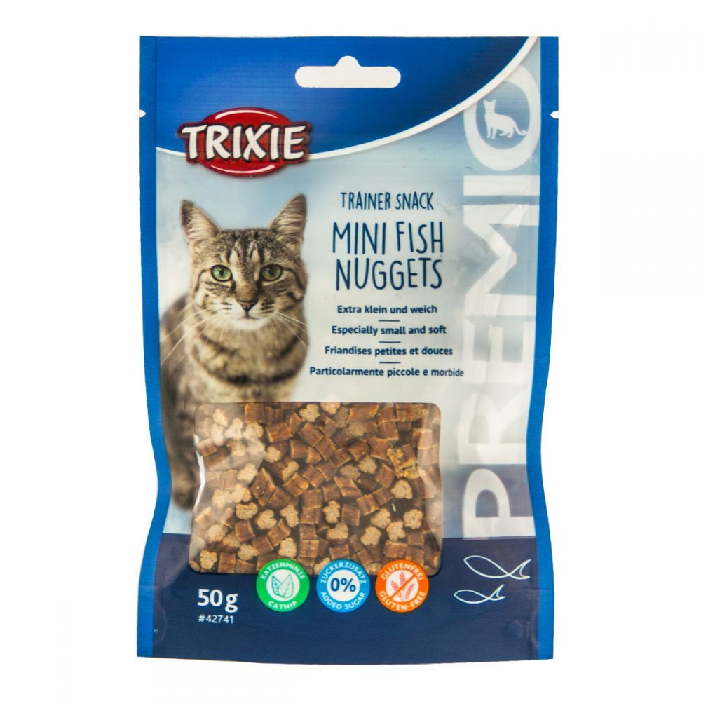 Cat pochoutka minifish nuggets (trixie) 50g
