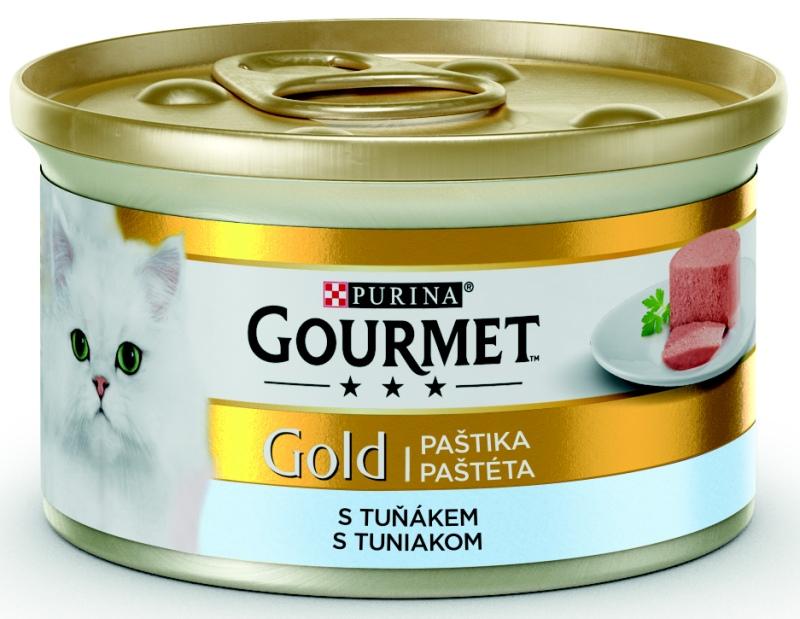 PURINA GG jemná paštika tuňák konzerva 85g