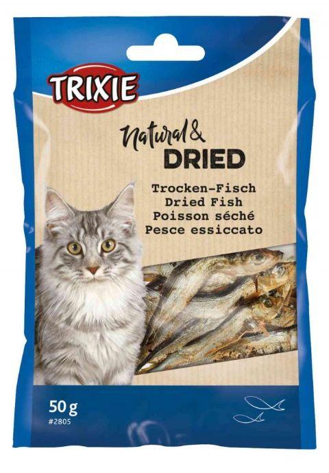 Cat pochoutka sušené rybičky (trixie) 50g
