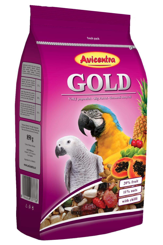 Avicentra  Gold velký papoušek 15 kg