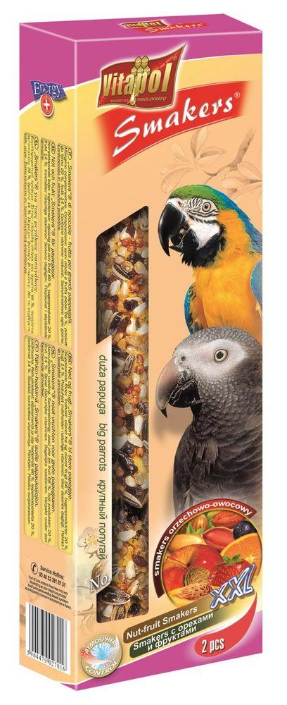 Vitapol tyčky velký papoušek - tropické ovoce-  XXL 2ks