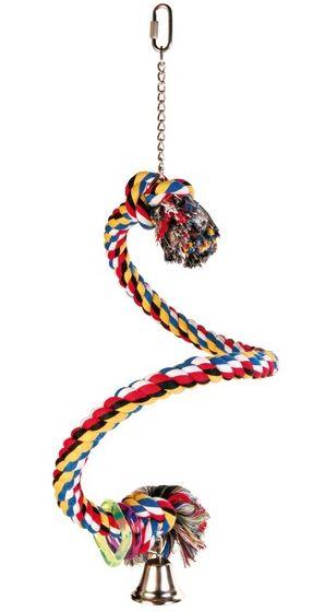 Houpačka bavlněné lano spirála