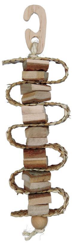 Kousací přírodní dřevo/sláma