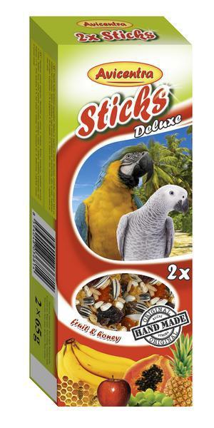 Avicentra tyčky velký papoušek kokos  ořech 2ks