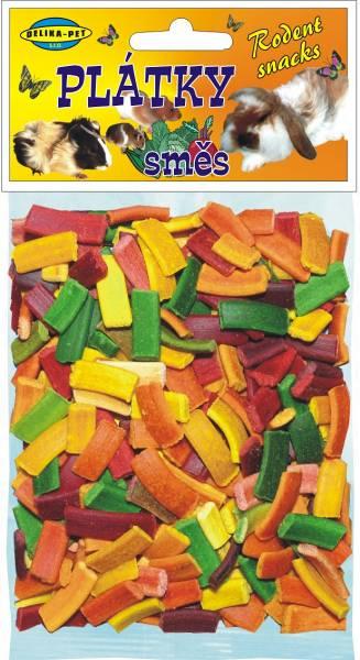 E414 směs plátky s kukuřičným sirupem