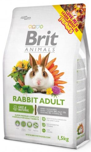 BRIT animals  RABBIT adult 1,5kg