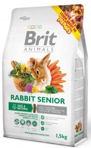 BRIT animals  RABBIT senior 1,5kg