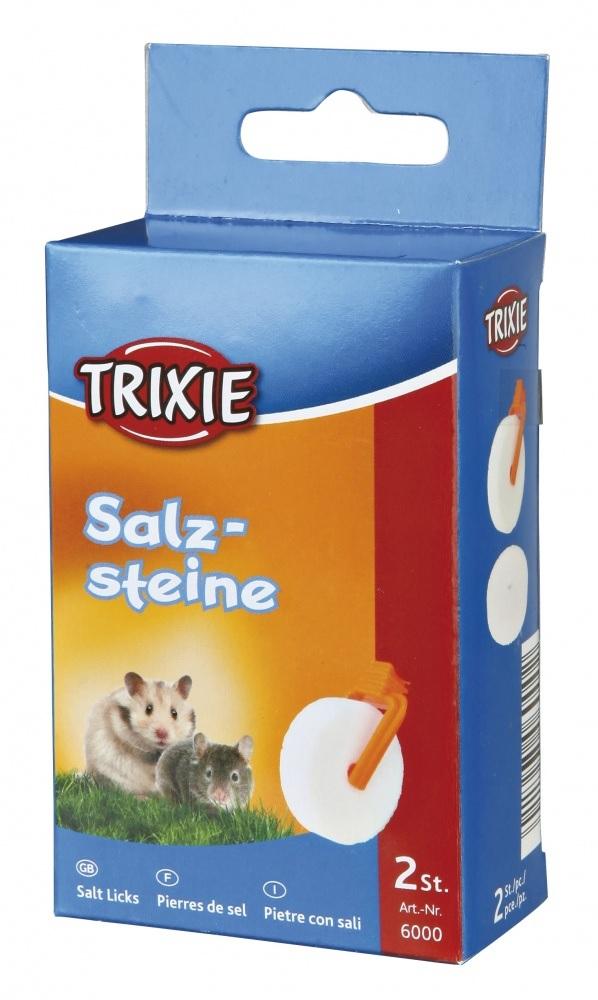 Minerální sůl kolečko pro křečka (trixie) 2x54g