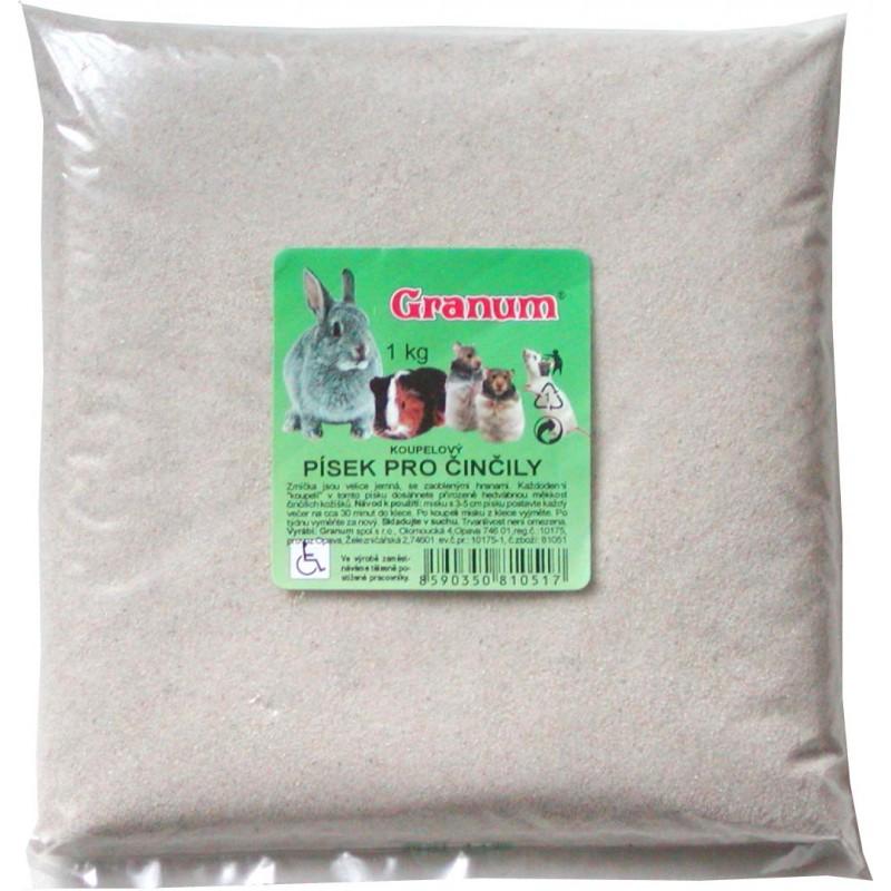 GRANUM   písek činčela (sáček) 1kg