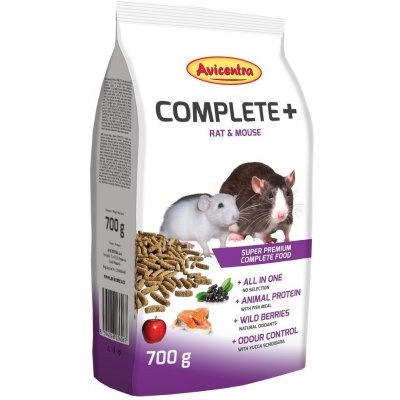 Avicentra COMPLETE+  RAT/MOUSE 700g