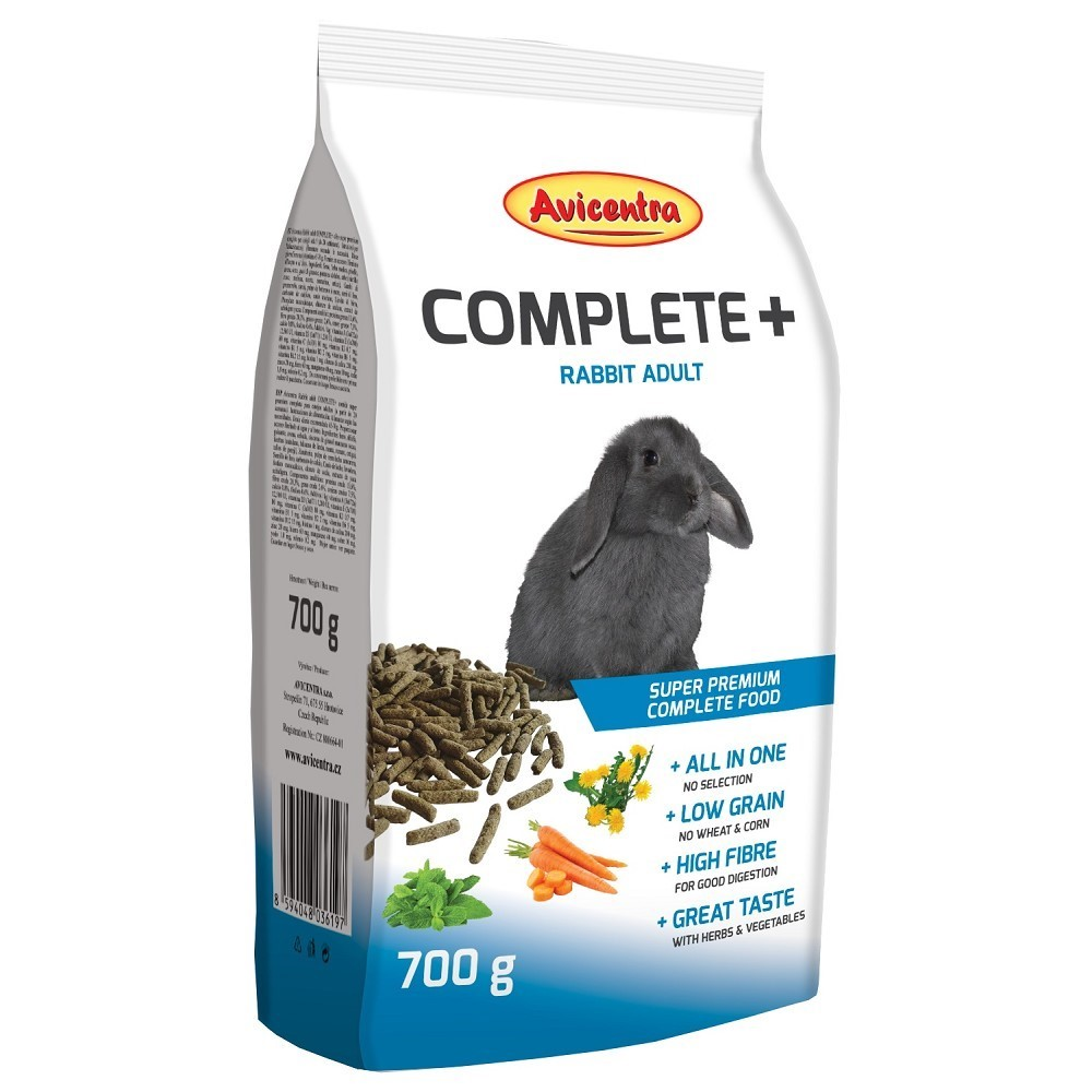 Avicentra COMPLETE +  RABBIT ADULT 700g