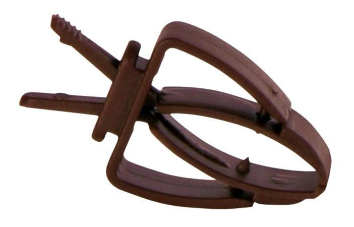 Plastový držák/kleštičky na klec pro hlodavce 2ks (trixie)