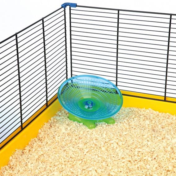 Kolotoč létající talíř myš/křeček