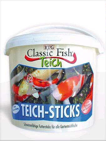 CLASSIC fish TEICHsticks 5l (vědro)