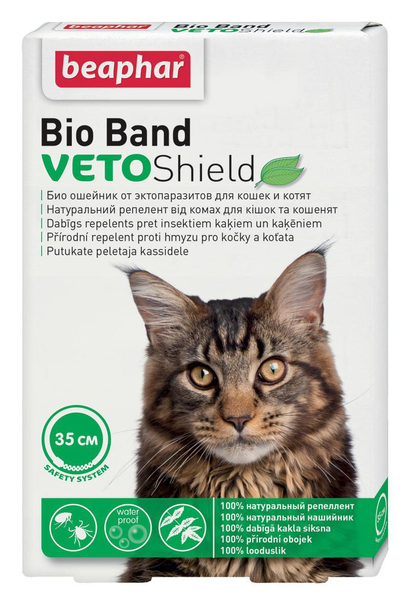 Beaphar antiparazitní obojek cat bio band 35cm
