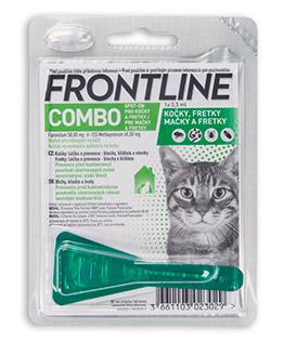 Antiparazitní spot-on FRONTLINE COMBO pro kočky