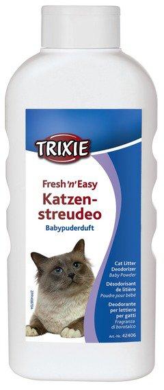 Trixie cat deodorant baby powder 750g