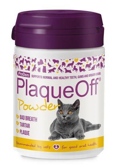 PRODEN PLAQUEOFF powder pro kočky 40g