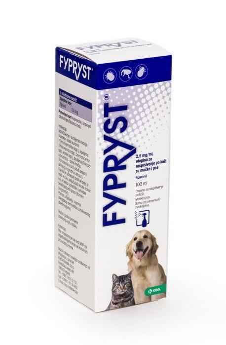 Antiparazitní spray - FYPRYST 100ml PRODEJNA