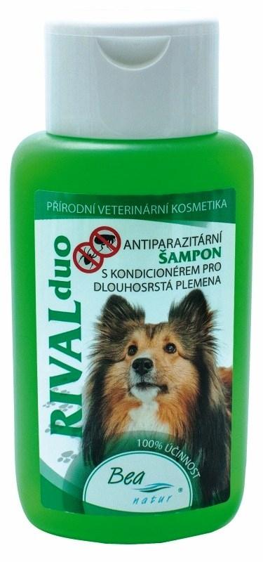 Antipar. šampon RIVAL DUO pro psy/dlouhá srst 220ml