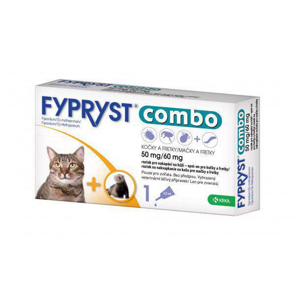Antiparazitní spot-on - FYPRYST COMBO pro kočky a fretky