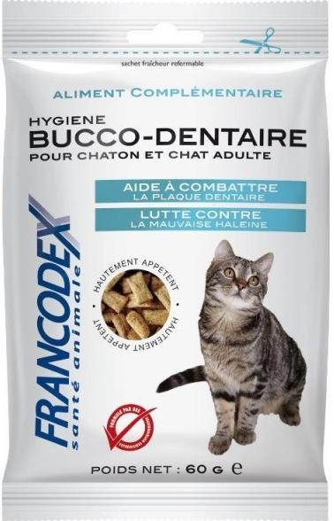 Francodex cat  poch. dental breath 65g
