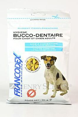 FRANCODEX dog  poch. DENTAL BREATH 70g