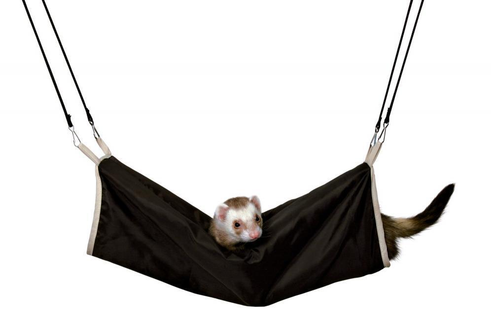 Tunel pro fretky a potkany s kožešinou závěsný 20x45cm