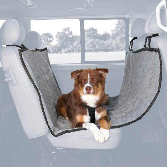 Autopotah na zadní sedadla  fleece/polyester (trixie) 1,45x1,60cm