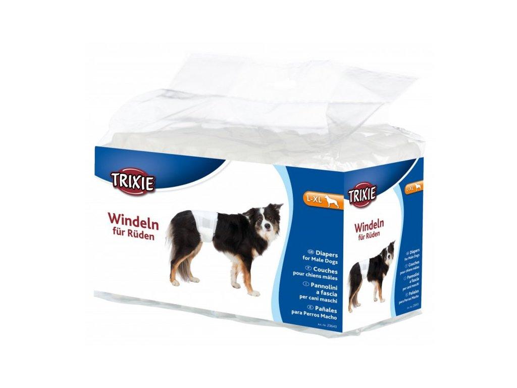 Pleny papírové pro psy (trixie) S-M 30-46CM/12ks