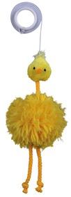 Plyšové kuřátko na gumičce 20cm